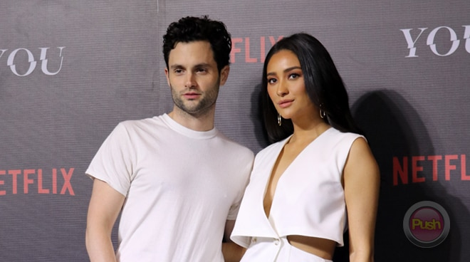 'You' stars Penn Badgley and Shay Mitchell talk about the impact of social media in modern society