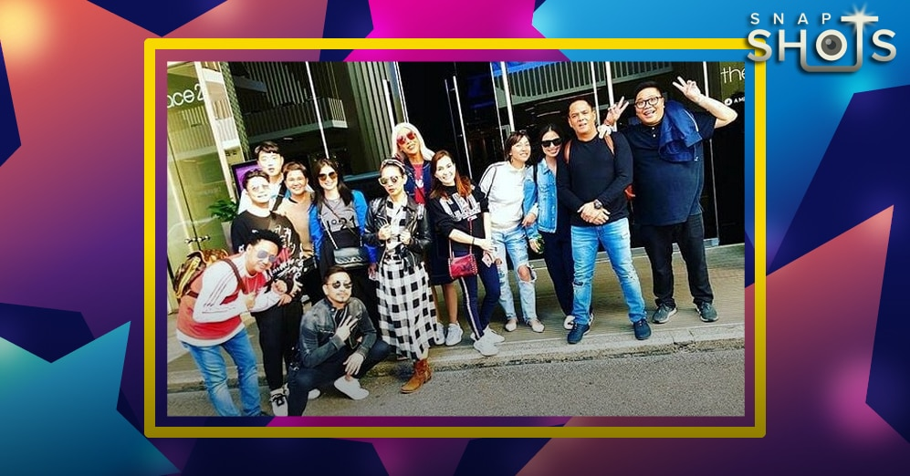 LOOK: It's Showtime family bonds in Hong Kong