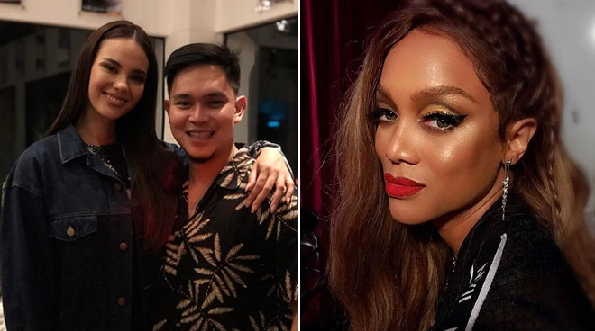Tyra Banks purchases shoes made by Catriona Gray's collaborator