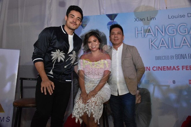 Bibida sina Xian at Louise sa VIVA Films offering na 'Hanggang Kailan?'