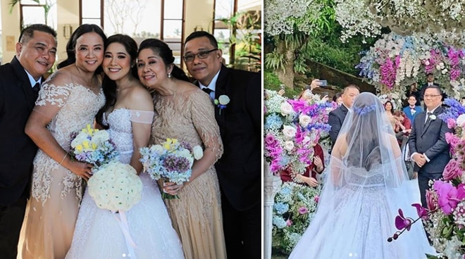 Moira Dela Torre is grateful for having her two fathers at her wedding