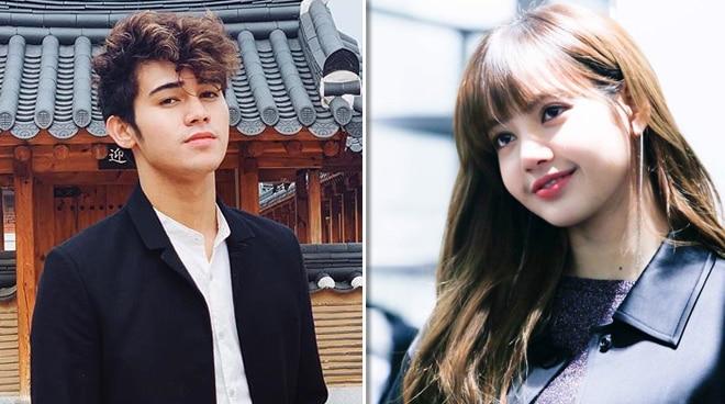 Inigo Pascual shares lucky encounter with Lisa of BLACKPINK: 'Nag-smile siya sa akin'