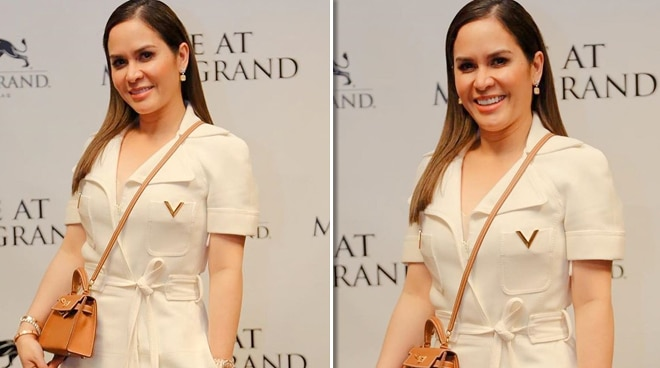 Jinkee Pacquiao's dress at Pacman fight worth almost P300K