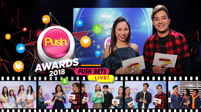 PUSH Bets Live: PUSH Awards 2018