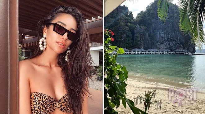 Shay Mitchell falls in love with Palawan