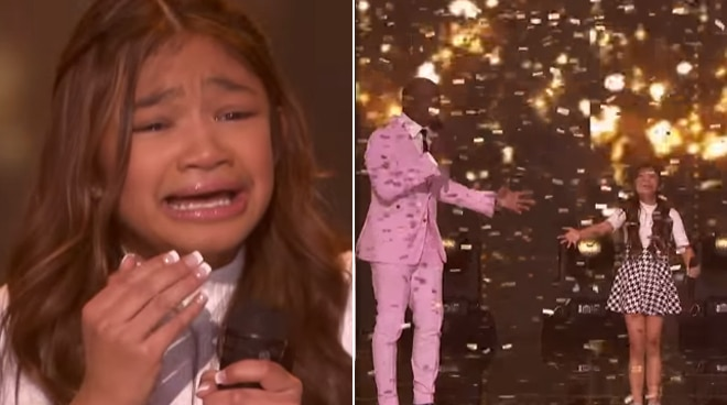 Fil-Am singer Angelica Hale receives Golden Buzzer on America's Got Talent for the second time