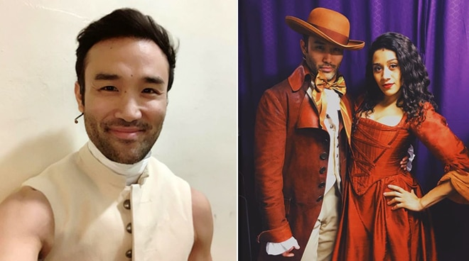 First Asian-American lands lead role in the Broadway play 'Hamilton'