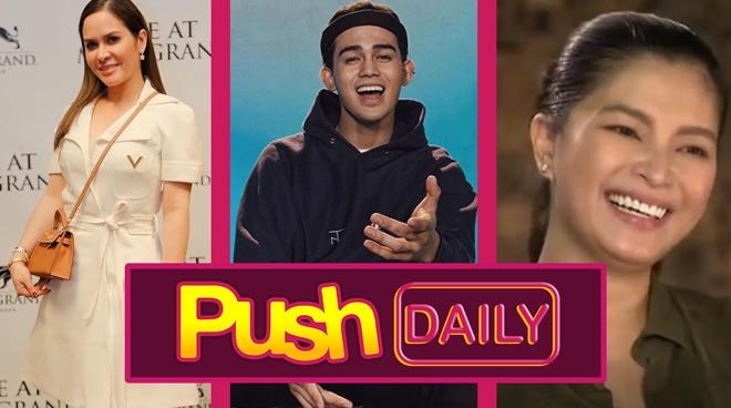 PUSH DAILY TOP 3: Jinkee Pacquiao, Inigo Pascual and Angel Locsin