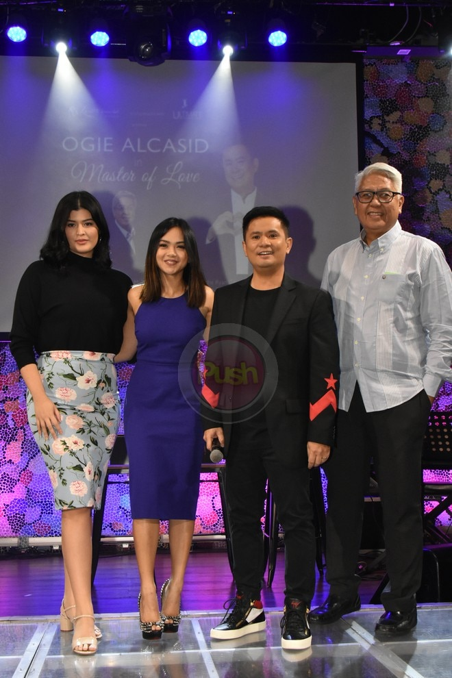 Joining Ogie are Mr. C, Mariel de Leon, Lara Maigue, Tanya Manalang, & Ryan Cayabyab singers.