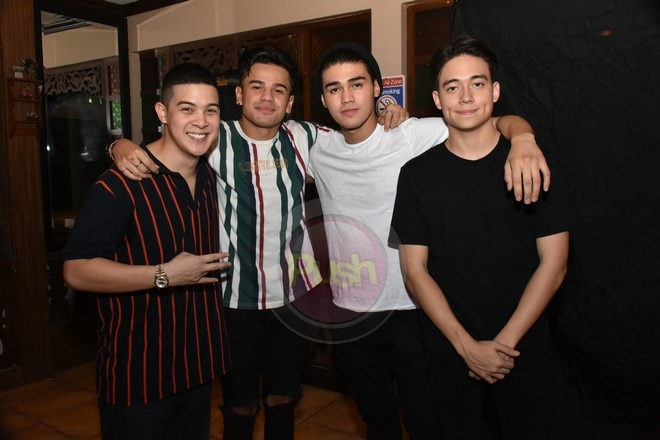 'This One's For Arnie' benefit gig was attended by Inigo's father Piolo and his celebrity friends.