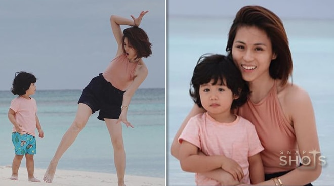 Toni Gonzaga and family enjoy a quiet beach holiday