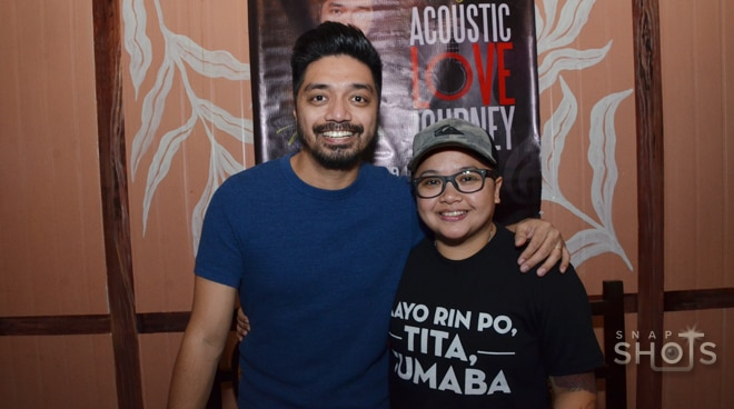 Ice Seguerra and Nyoy Volante, together for a concert