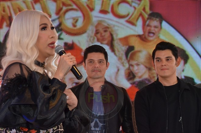 """Fantastica"" is now the top grossing Vice Ganda movie, earning Php 596 million to date."