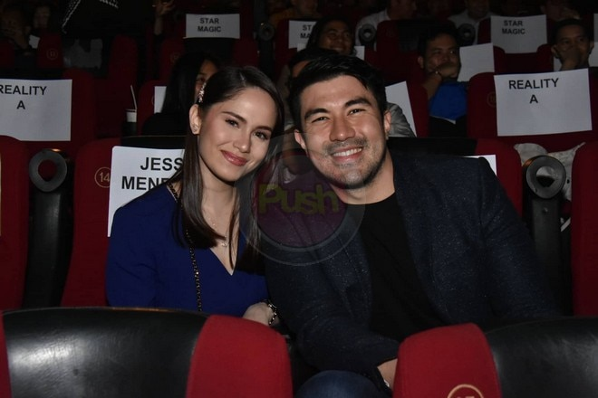 Luis Manzano shows support for Jessy's movie