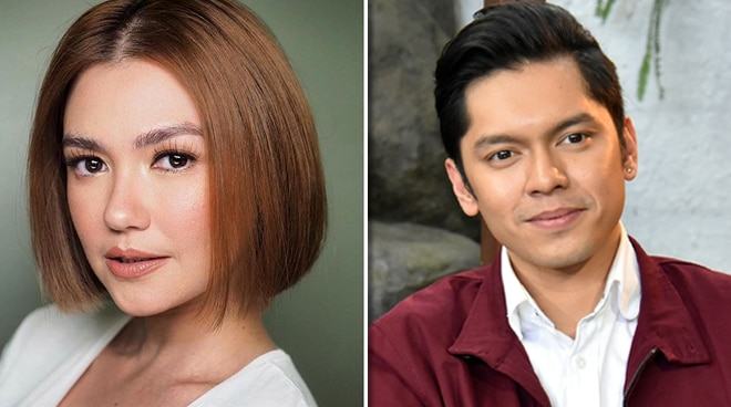 Angelica Panganiban reacts to a fan accusing her of hurting Carlo Aquino and tainting his reputation