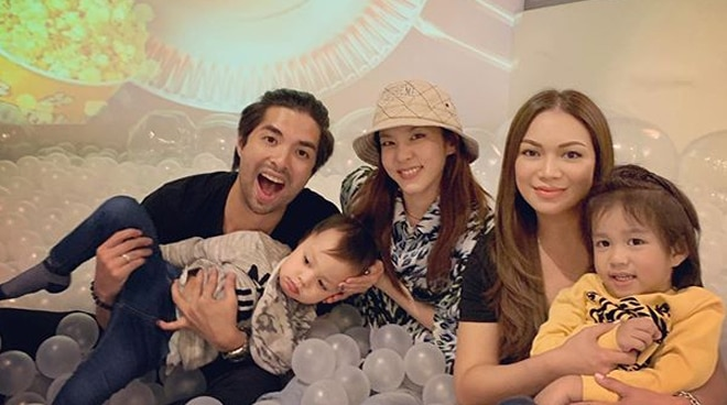 Joross Gamboa, family bond with Sandara Park in Korea