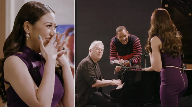 Morisette meets Will Smith, shares duet with Disney composer Alan Menken