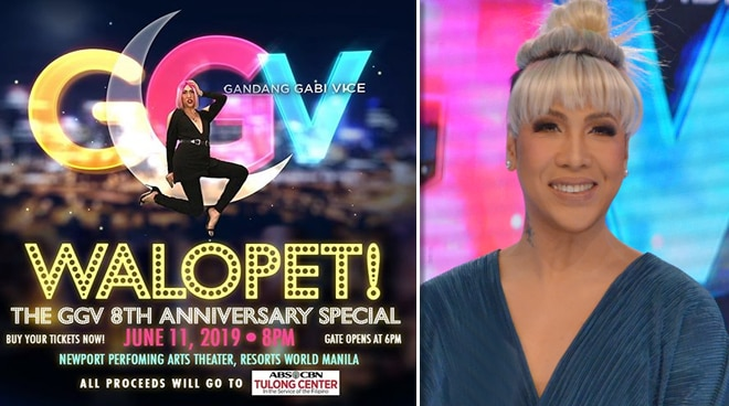 'Gandang Gabi Vice' to mark 8th anniversary with a benefit show