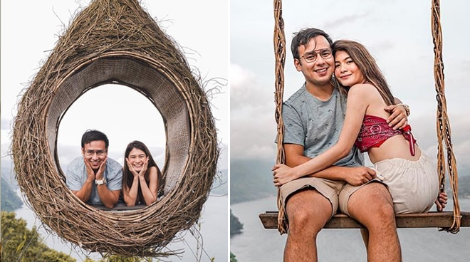 LOOK: John Manalo marks first out-of-the-country trip with girlfriend Erika Rabara