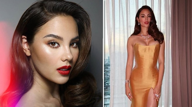 Catriona Gray admits feeling emotional passing the Bb. Pilipinas crown