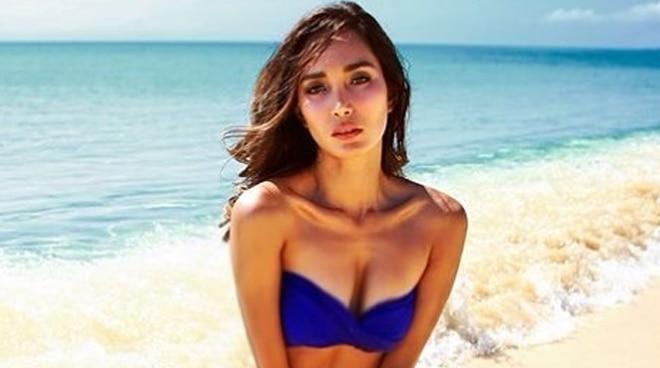 LOOK: Bea Rose Santiago rocks a perm catheter at the beach