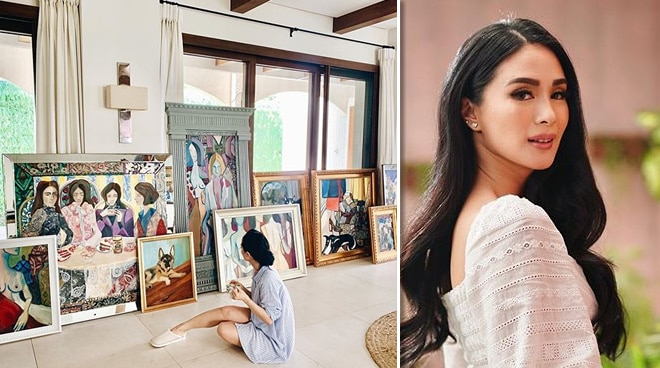 Heart Evangelista shares sneak peek of massive art collection