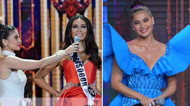 Anne Curtis assures apologetic Miss Sorsogon as she addresses their trending moment on Bb. Pilipinas