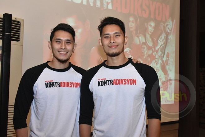 LOOK: Jake Cuenca, Katrina Halili and the rest of the cast of Kontradiksyon