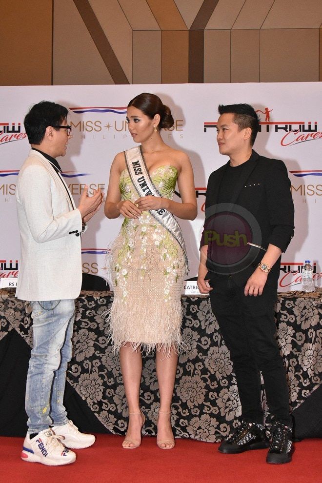 Catriona Gray for Frontrow