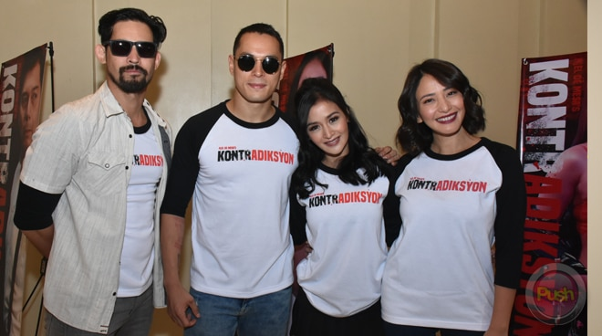 Meet the cast of the new action film 'Kontradiksyon'