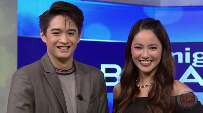 PBB Otso teens Angela Tungol and Lance Carr explain why they call each other 'boo'