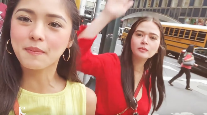 Kim Chiu visits New York City with Bela Padilla for 72 hours