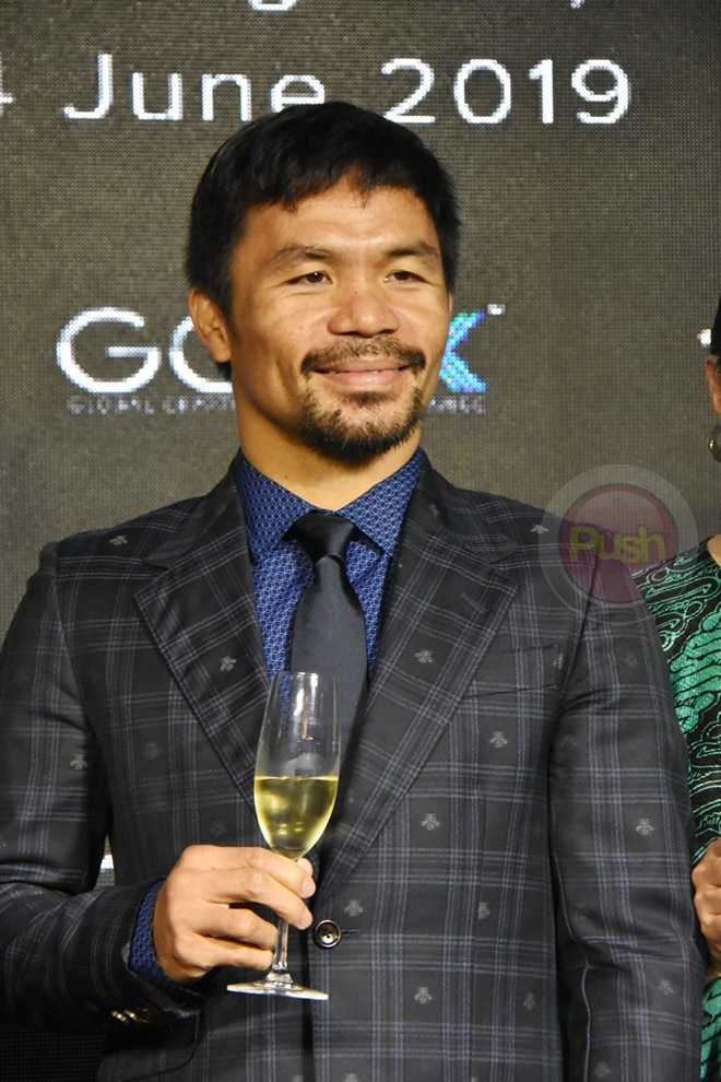 Manny Pacquiao and GCOX are set to give a free concert on September 1 at the Big Dome.