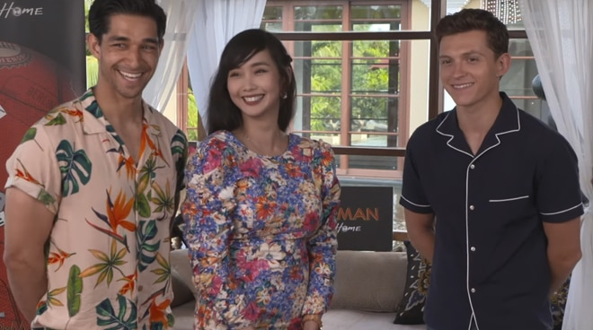 Alodia Gosiengfiao and Wil Dasovich interview Spider-Man actor