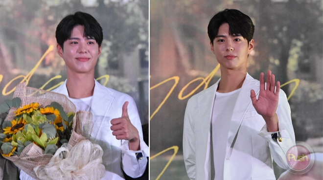 Park Bo-gum hopes Pinoys will have a good time at his fan meeting