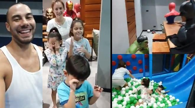 Doug and Cheska Kramer surprise kids with big playroom