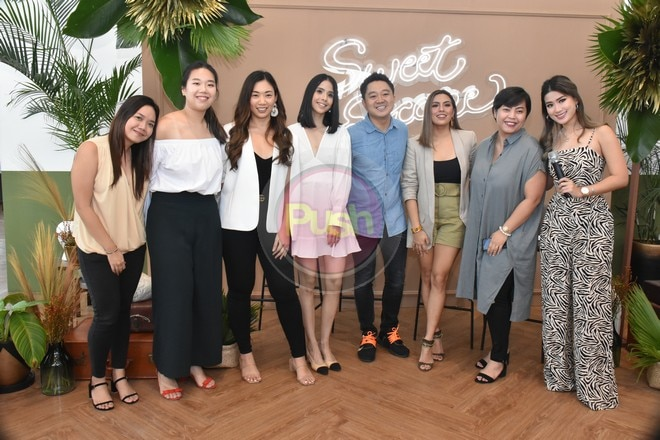 Nikki Gil and Maxene Magalona are the new faces of photography service Sweet Escape