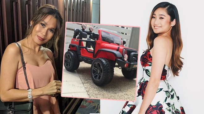 Pokwang surprises daughter Mae with her 'dream car'