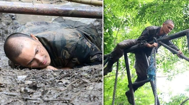 LOOK: Matteo Guidicelli's intense army training