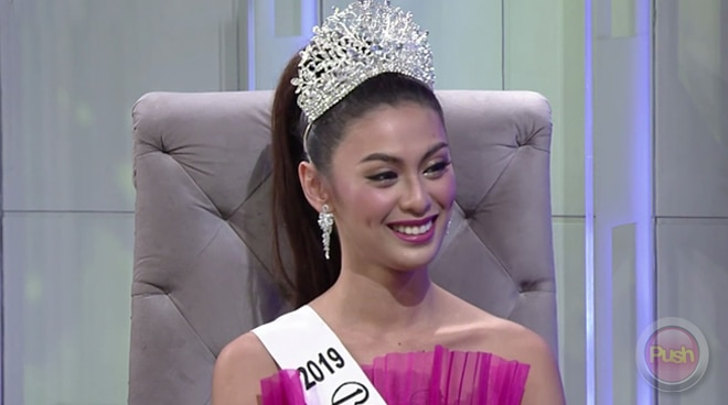Patch Magtanong shares how she juggled the Bar exams and joining Bb. Pilipinas 2019