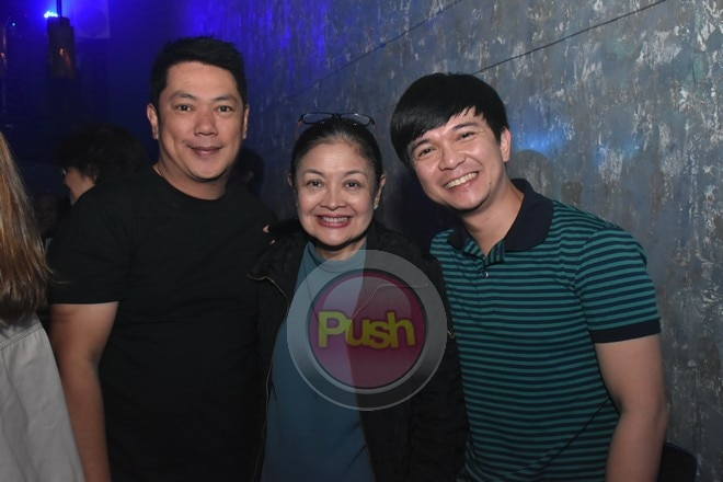Friends and family attended Kiana's album launch in Makati.