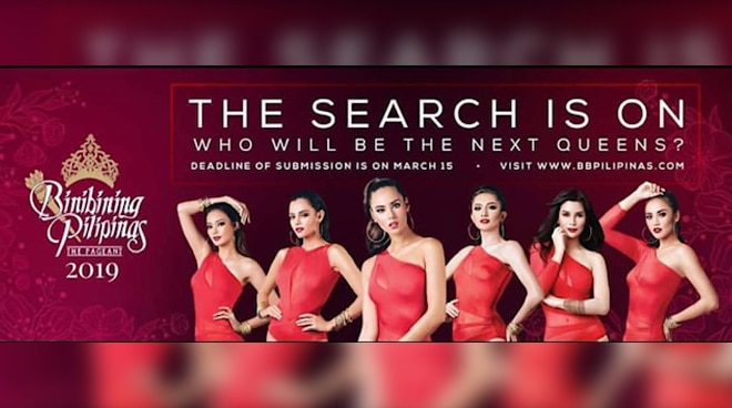The Search is on for Binibining Pilipinas 2019