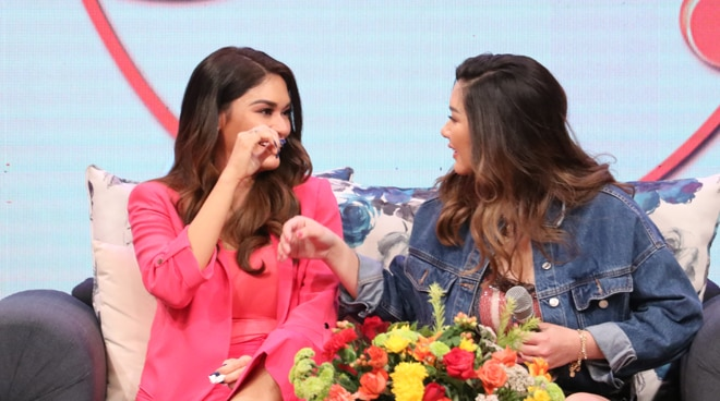Pia Wurtzbach gets emotional as she recalls how sister Sarah kept supporting her in beauty pageants