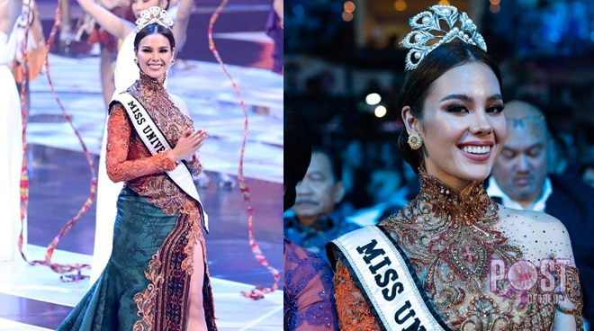 Catriona Gray graces Puteri Indonesia 2019 pageant