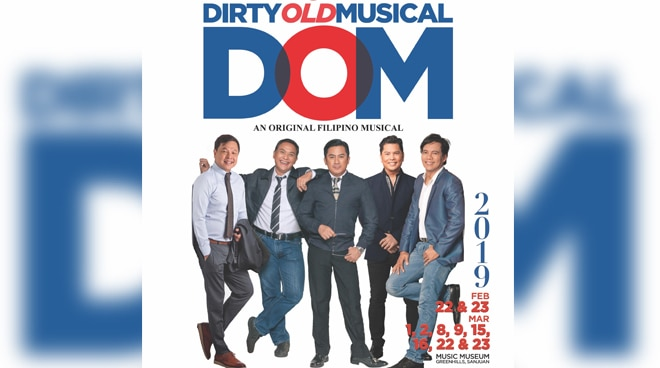 REVIEW: Enjoy a different twist to '70s and '80s OPM in this year's run of 'DOM: Dirty Old Musical'
