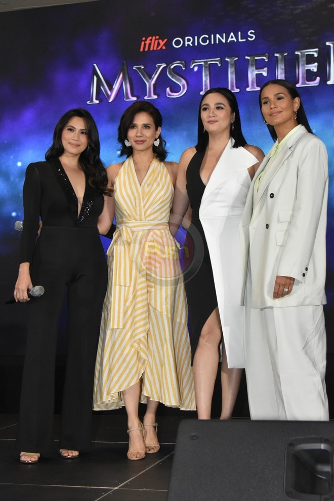 Iza Calzado, Karylle, Diana Zubiri & Sunshine Dizon for 'Mystified.'
