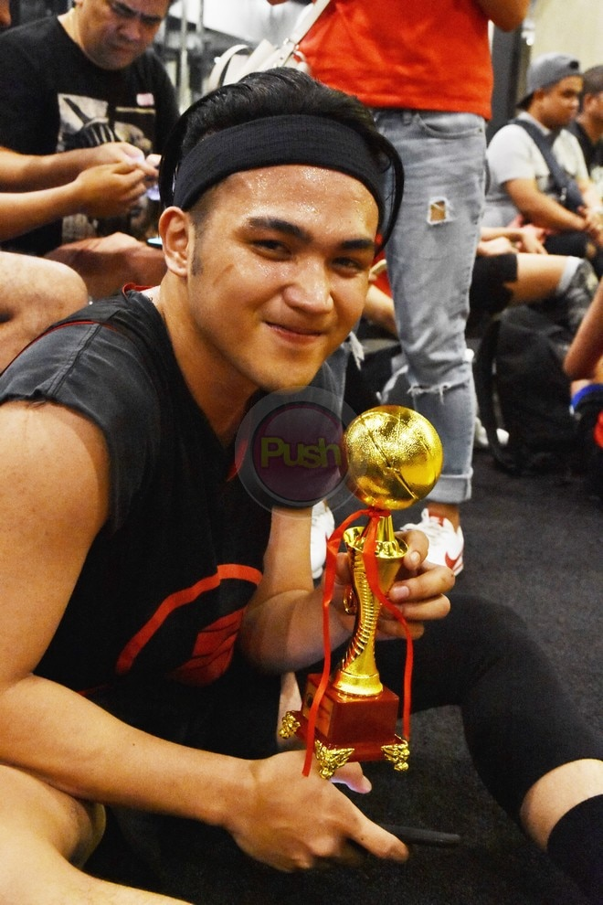 Check out who joined Gerald's celebrity basketball tournament.