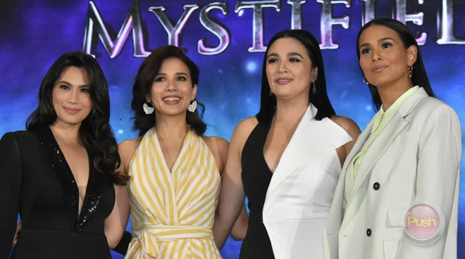 """Karylle, Iza Calzado, Diana Zubiri, and Sunshine Dizon reunite in digital film Mystified: 'We are more brave at this point in our lives"""""""
