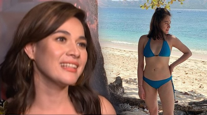 What was Bea Alonzo's reaction when her bikini photo went viral?