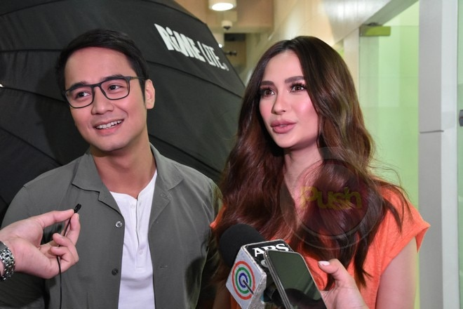 JM de Guzman and Arci Munoz gear up for their upcoming movie Last Fool Show.